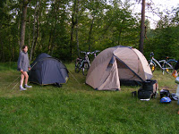 nocleg w namiotach