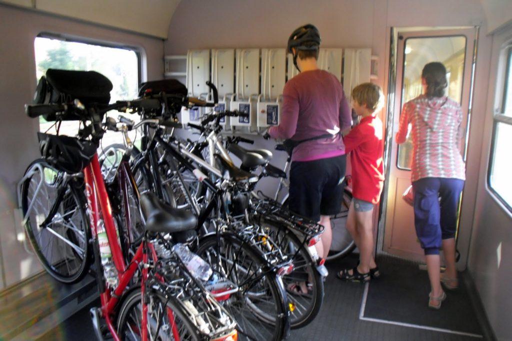rowery w pociągu