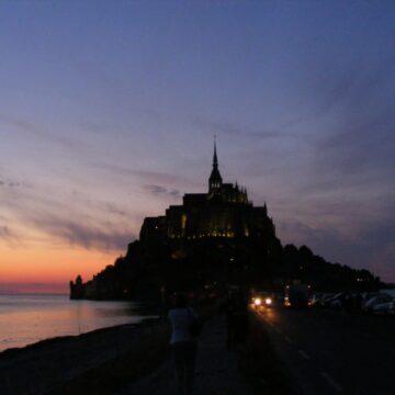 dzień 17 – Mont St Michel w kukurydzy, przypływ i nasza pani
