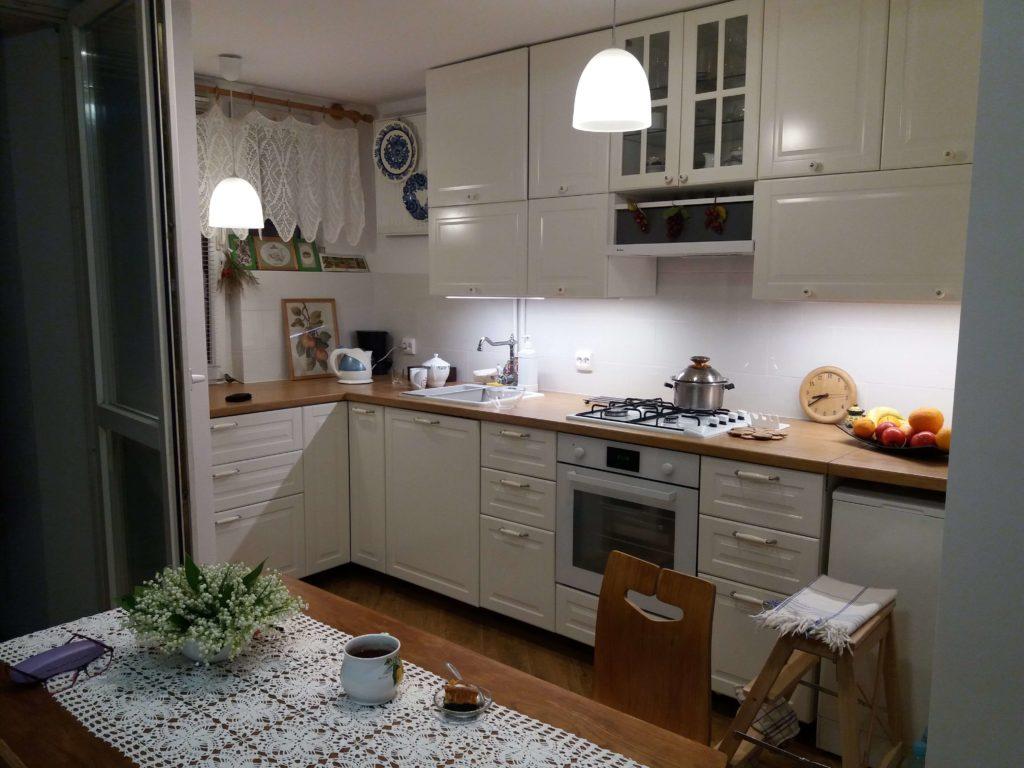 Kuchnia Ikea Bodbyn Kremowa Samodzielnie Zaprojektowana I