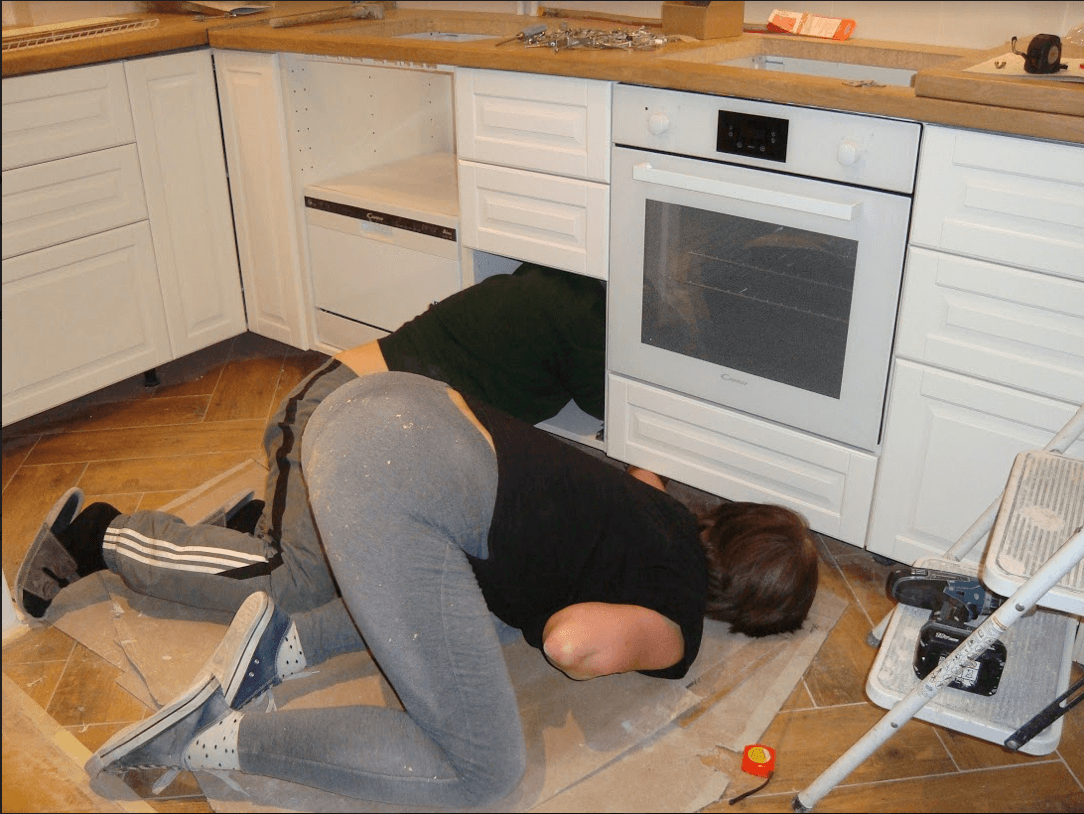 Kuchnia Ikea Bodbyn Kremowa Samodzielnie Zaprojektowana I Zlozona