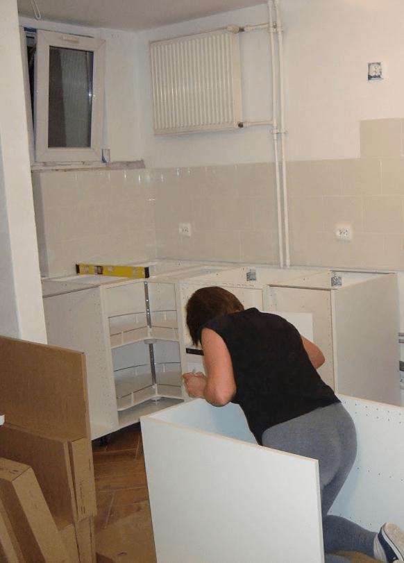 montaż mebli kuchennych IKEA